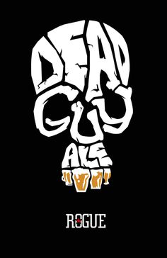 Rogue: Dead Guy Ale; Beer Logo; Pirate Skull
