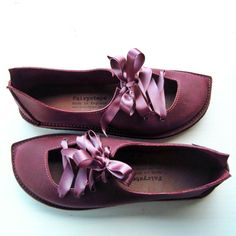 UK 8, PUCK in Plum 2596   Fairysteps Shoes & Bags  Oh how I want these...