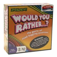Zobmondo!!'s Would You Rather....? Board Game