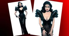 The story behind Dita Von Teese's 3D printed dress