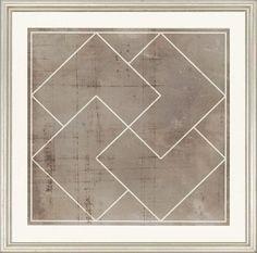 Geometric Framed Wall Art - Set of 3