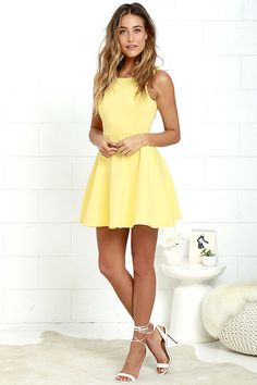 2018 New Style Yellow A-Line Homecoming Dresses,Spaghetti Straps Mini Graduation Party Dresses from SofieDress 2018 New Style Yellow A-Line Homecoming Dresses, Spaghetti Straps Mini Graduation Gowns Yellow Homecoming Dresses, Hoco Dresses, Pretty Dresses, Graduation Dresses, Yellow Short Dresses, Skater Dress Homecoming, Evening Dresses, Short Dresses For Prom, Spring Formal Dresses