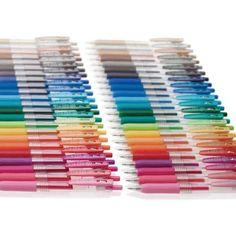 Sarasa Pens, Milk Color, Easy Writing, Marker Crafts, Gel Ink Pens, Pen Nib, Rollerball Pen, Pen Sets, Pen Holders