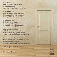 Moving a parent to a nursing home is a choice that no adult wants to make for their loved one. Alzheimer Care, Alzheimers, Poem Quotes, Poems, Strong Feelings, Dutch Quotes, Alzheimer's And Dementia, Elderly Care, Don't Speak
