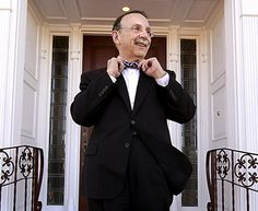 You might see this guy walking around campus.  If you do, give President Loftin a high five and ask him about his huge bow-tie collection!