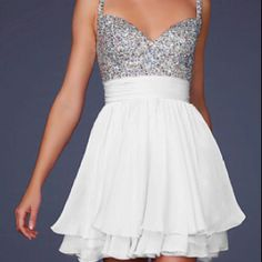 I just love this. Elope in Vegas dress :)