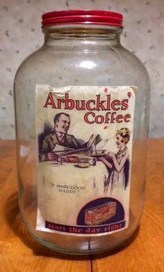 Vintage Food, Vintage Coffee, Vintage Recipes, Coffee Jars, Coffee Tin, Antique Coffee Grinder, Food Jar, Pot Sets, Old Ads