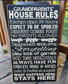 Porch sign...