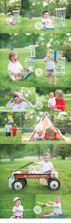 Outdoor family session with Heidi Hope Photography #outdoor #family #posing