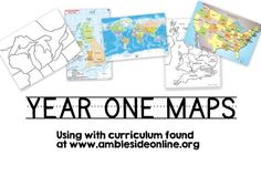 We have done a little bit of Our Island Story already this year, but we are starting Ambleside Year 1 in full force soon and I *think* I have my maps set up! To start of with History, here are thre…