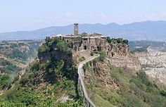 Civita di Bagnoregio: predates the Renaissance in Italy -- only an hour and a half from Rome.