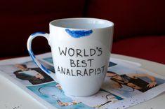 "Tobias Fünke: Worlds Best Analrapist Mug, $15 | 15 Pieces Of ""Arrested Development"" Merch You Need Right Now"