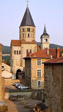 Abadía de Cluny, Francia.