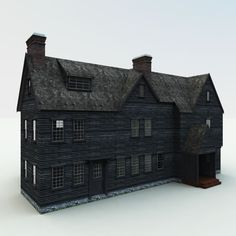 miniature of 'The House of the Seven Gables' featured in Nathaniel Hawthorne's famous tale.