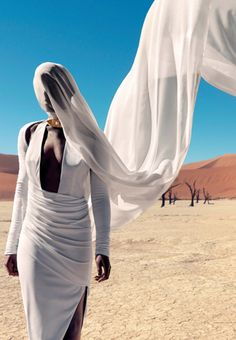 "Narcisse Magazine ""Those Without Shadows"" desert fashion editorial"