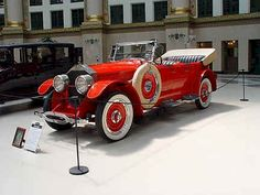 1923 McFarlan McFarlan Motor Car Co. Connersville, IN