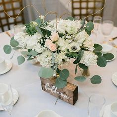 KANDJCREATES Rustic Wooden Wedding Table Numbers Party