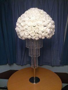 crystal chandelier centrepiece