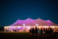 Our Aurora Sailcloth Tent lights up at night Wedding Hire, Tent Wedding, Home Wedding, Blue Bridesmaid Gowns, Tent Lighting, Party Hire, Sailing Outfit, Event Company, Marquee Wedding