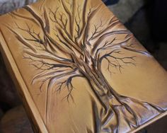 Photo album 13 x 9  with Tree for 300 photos by crearting on Etsy, $130.00