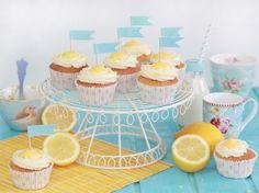 Cupcakes de Limón y Lemon Curd (nueva receta mejorada)