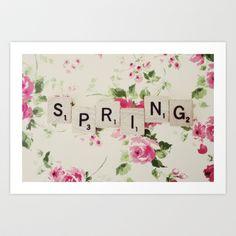 spring Art Print by Beverly LeFevre