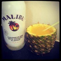 My favorite drink ...coconut rum and pineapple juice..mmm