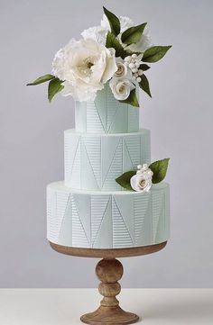 Featured Wedding Cake: Crummb;Â www.crummb.com; Wedding cake idea.