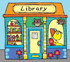 """bibliolectors: """" In library / En la biblioteca (ilustración de Emma Parrish) """""""