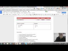 ▶ Plantillas Documentación interna centro educativo Google Apps Drive - YouTube