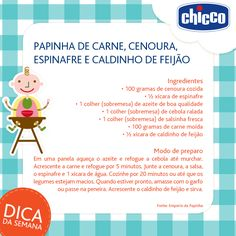 Que delícia, é hora da papinha! Toddler Meals, Kids Meals, Papa Baby, Baby Boy Or Girl, Baby Education, Mother And Baby, Baby Time, Child Development, Kids And Parenting