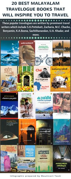 Do you want to know about the 20 popular Malayalam Travelogue Books