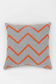 NEST Zigzag Chambray Pillow