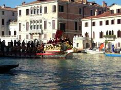 Venice, the Historical Regatta along the Grand Canal (scroll down to find this video)