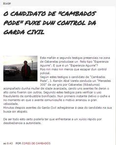 """CORES DE CAMBADOS: A PRENSA DEMOSTRA QUE """"CORES DE CAMBADOS"""" NON MENT..."""