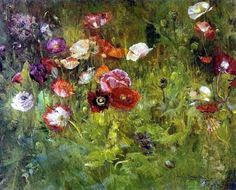 "Maria Oakey Dewing ""Poppies"""