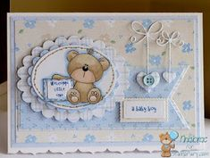 somethinggonemissing: DT card for Stampfairy Baby Boy Cards, New Baby Cards, Baby Shower Cards, Baby Scrapbook, Scrapbook Cards, Baby Barn, Baby Christening, Congratulations Card, Baby Kind