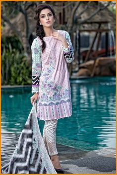 Maria B Spring Summer Collection 2016   #MariaB #Dresses #MariaBCollection #MariaBDresses #Fashion