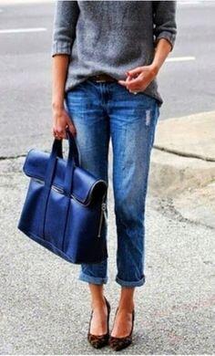 Boy Jeans. #indigogrey