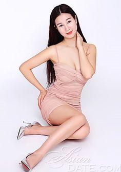 Mulher asiática on-line;  Linda imagens: Huali (Vivian)