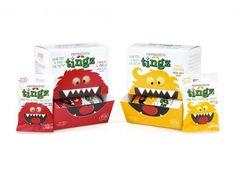 + Design de embalagem :   O bom trabalho da B studio, para a Peppersmith Tingz.