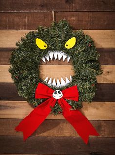 $39.92 · Oh how horrible jolly your Christmas will be! Make your space festive with none other than the monster wreath from The Nightmare Before Christmas. There even is a Jack Head in the middle of the big…More #christmasdiy