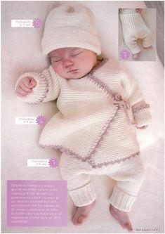 Albüm Arşivi Baby Cardigan Knitting Pattern, Baby Knitting Patterns, Baby Patterns, Knitting For Kids, Knitting Projects, Cardigan Bebe, Baby Pullover, Crotchet Patterns, Crochet Bebe