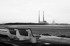 The Pigeon House chimneys taken from Sandymount Strand. Pigeon House, Dublin City, Things To Do, February, New Homes, Ideas, Art, Things To Make, Art Background