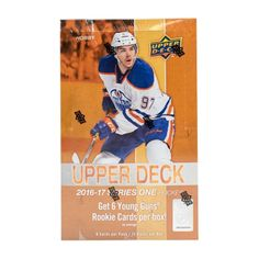 2016/17 Upper Deck Series 1 Hockey Hobby Box - (24) Packs Find Six Young Guns Rookie Cards Per Box! Featuring The Best New Talent in The NHL! The 1st Chance For Collectors to Find Live Rookie Cards From ...