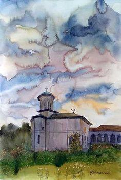 Korean Drama, Sky, Painting, Heaven, Heavens, Painting Art, Paintings, Painted Canvas