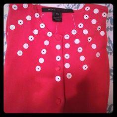 Mark Jacobs sweater like NEW Beautiful button down cardigan. 100% cotton Mark Jacobs Sweaters Cardigans