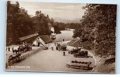 *Trossachs Pier Loch Katrine Scotland UK Vintage Real Photo Postcard C51 | eBay