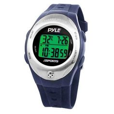 Thermo Watch w/ Thermometer, Chronograph, Countdown Timer (Blue Color)