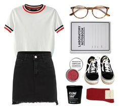 """""""Pepper"""" by soym ❤ liked on Polyvore featuring WithChic, Paul & Joe, Obsessive Compulsive Cosmetics, Vans and Falke"""